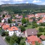 ...~ Blick über Wutha zum Kleinen Hörselberg ~...